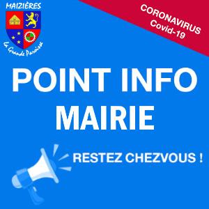INFOS MAIRIE - COVID19
